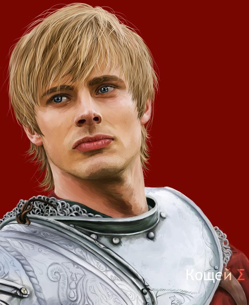 BBC Merlin : Prince Arthur by labrathor
