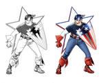 Travis Charest Captain America
