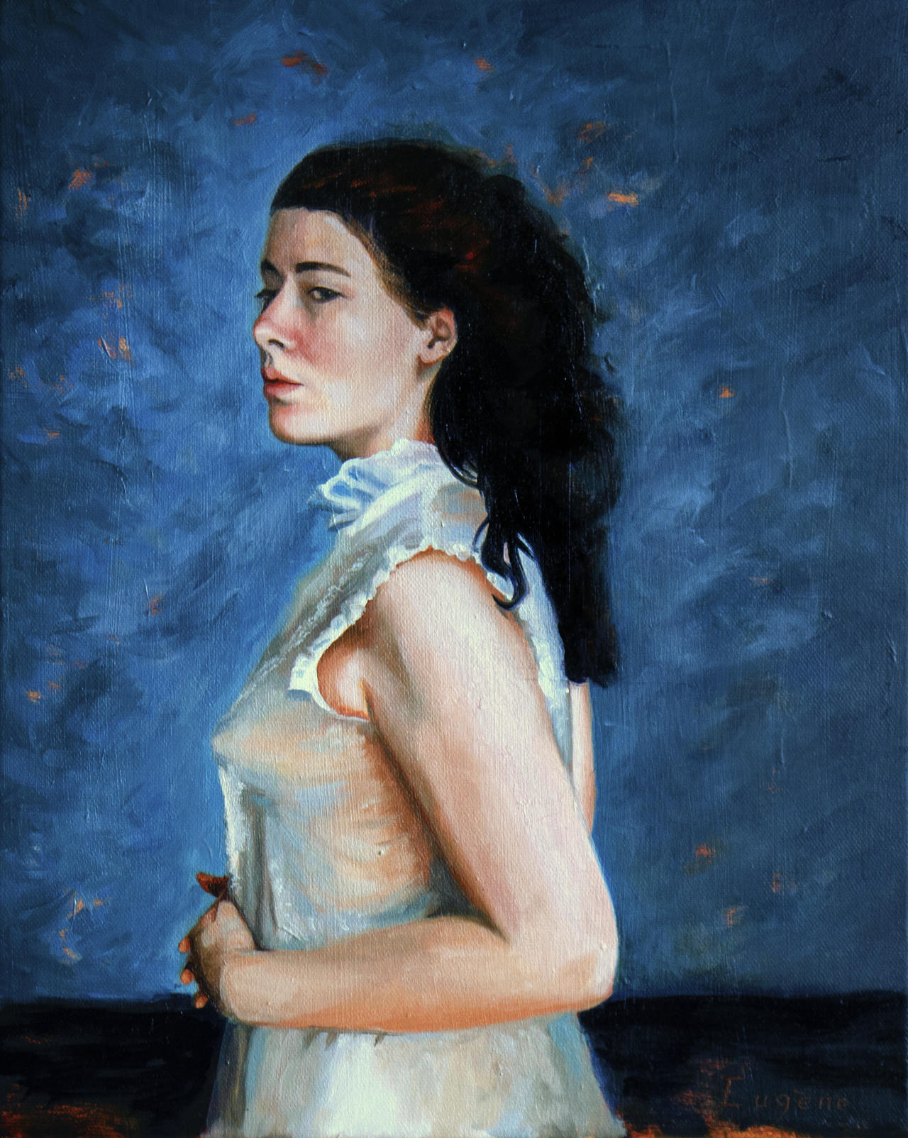 Portrait with Oil