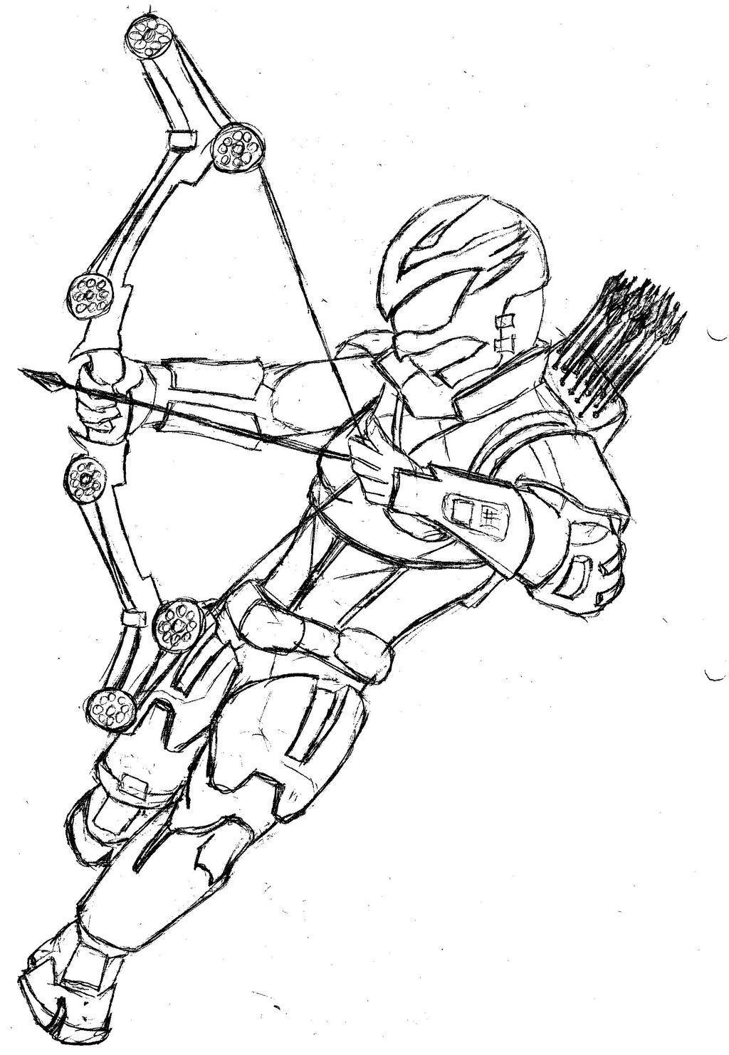 Charlie Pink Power Ranger Sketch by MartyShepard on DeviantArt