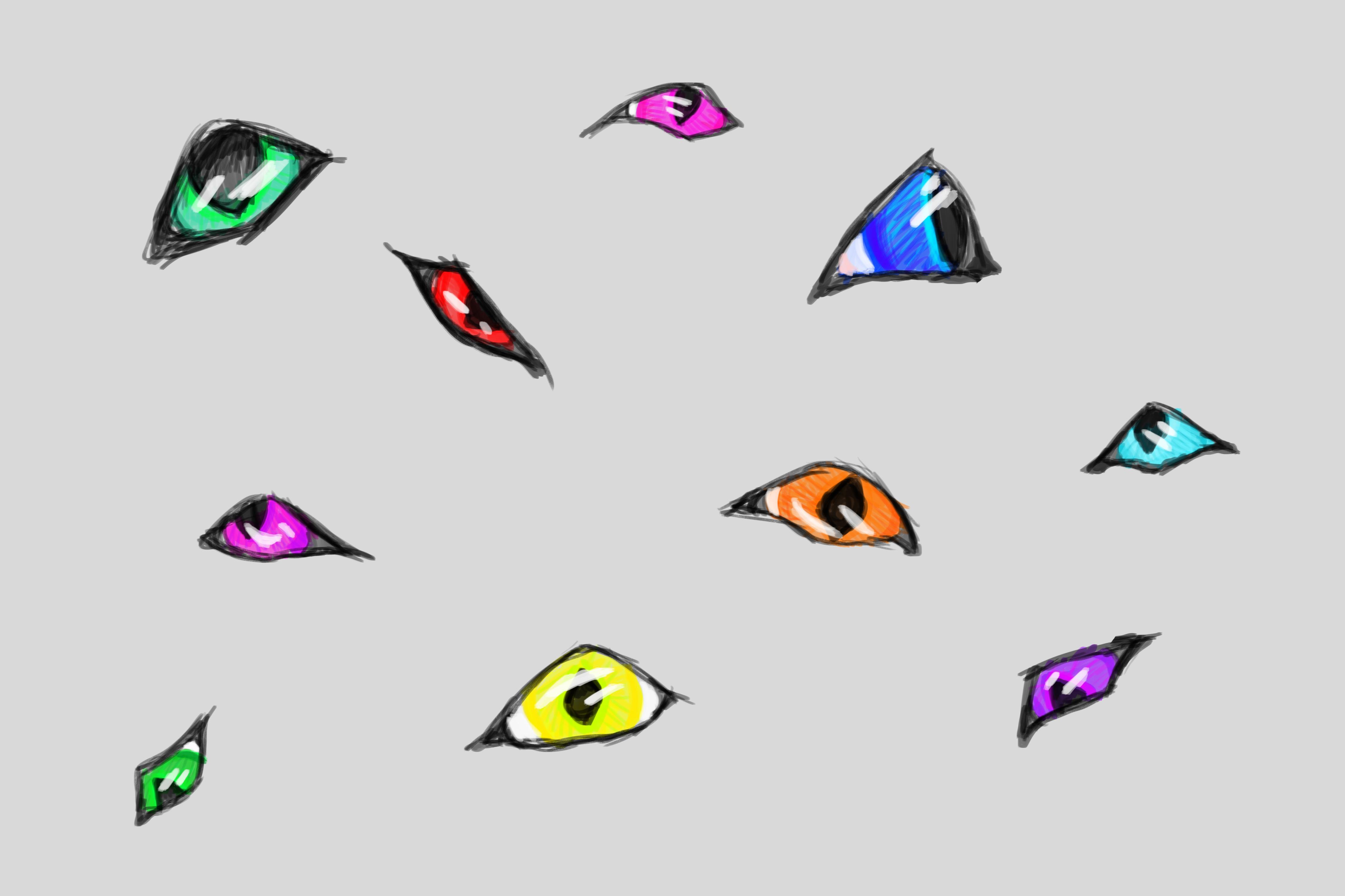 Dragon Eyes by xTheDragonRebornx