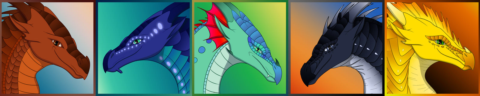 FREE Wings of Fire Dragonets of Destiny Icons