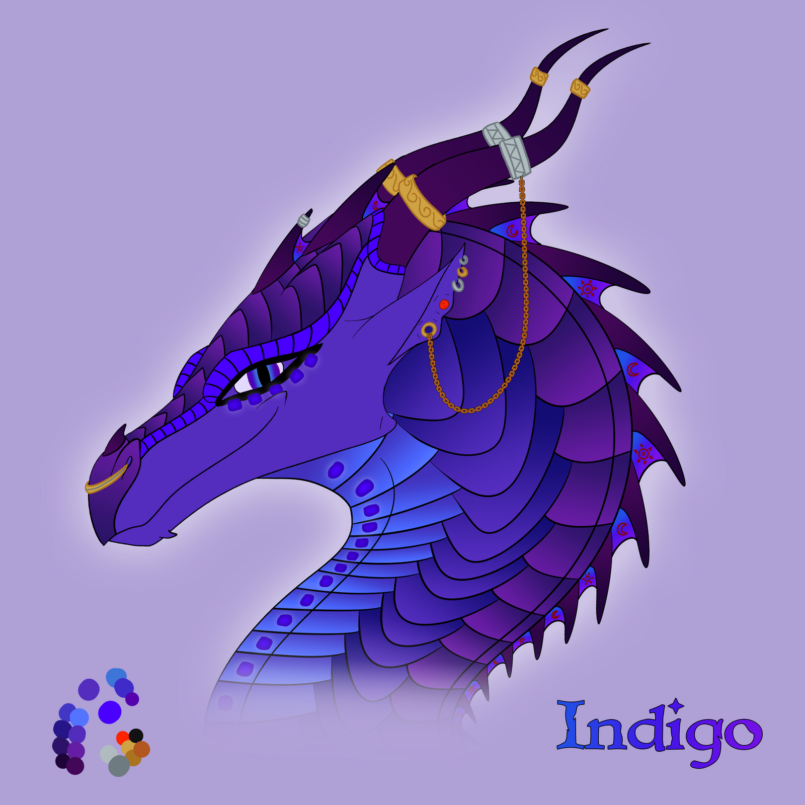 Indigo By Xthedragonrebornx On Deviantart