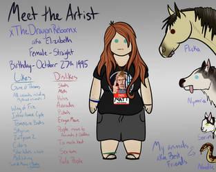 Meet The Artist Meme by xTheDragonRebornx