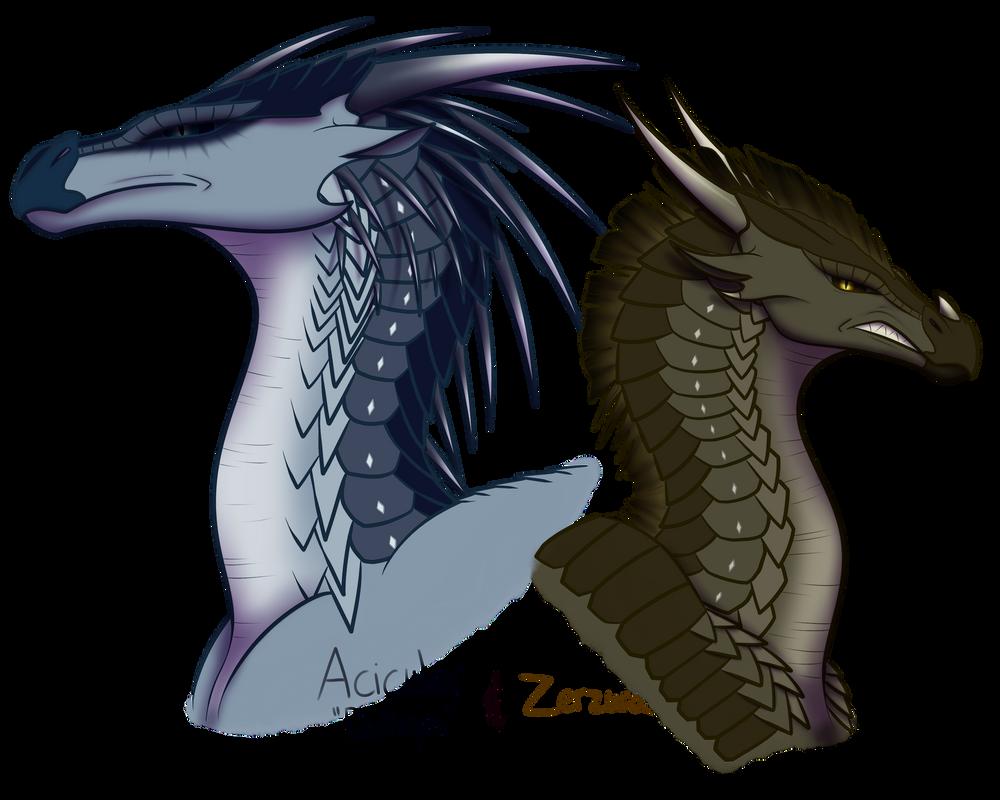 Acicular and Zerzura by xTheDragonRebornx