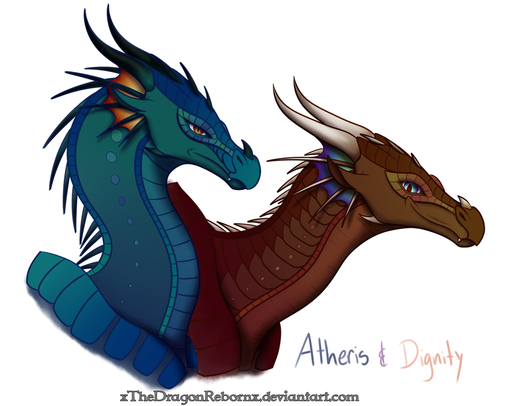 Atheris and Dignity by xTheDragonRebornx