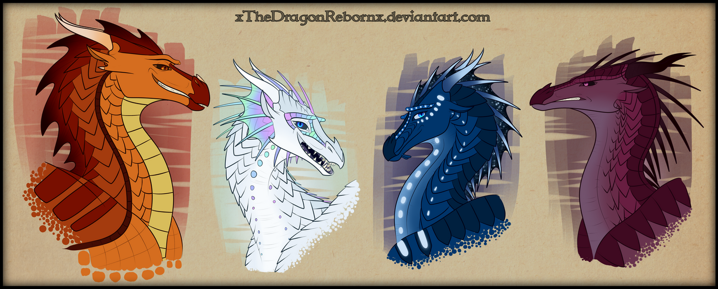 Les Hybrides et les Special Bunch_of_misfits_by_xthedragonrebornx-db1zd7t