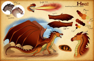 Heat Reference Sheet by xTheDragonRebornx