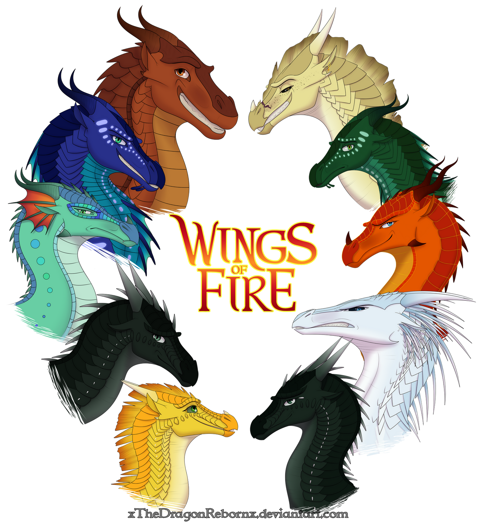 Wings Of Fire Dragon Sunny Coloring Pages. Wings. Best ...