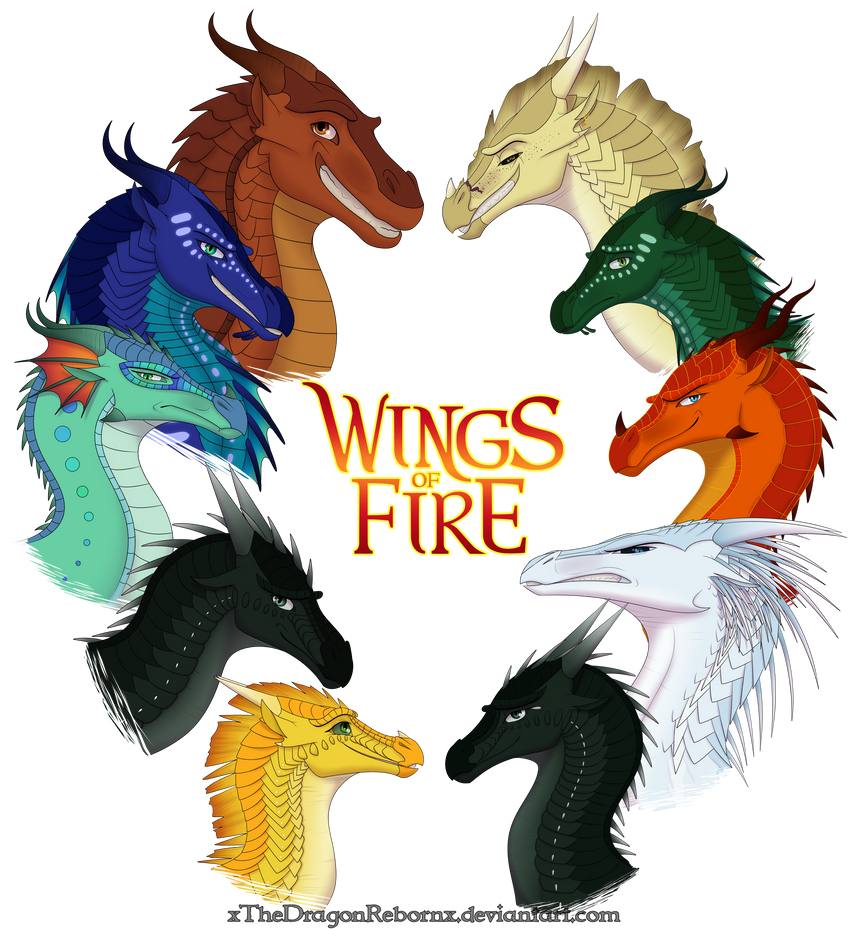 Wings of Fire - All Together by xTheDragonRebornx on ...