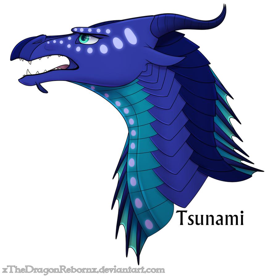 """Résultat de recherche d'images pour """"wing of fire tsunami"""""""