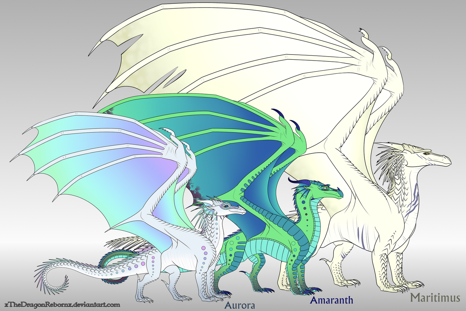 aurora family reference by xthedragonrebornx on deviantart