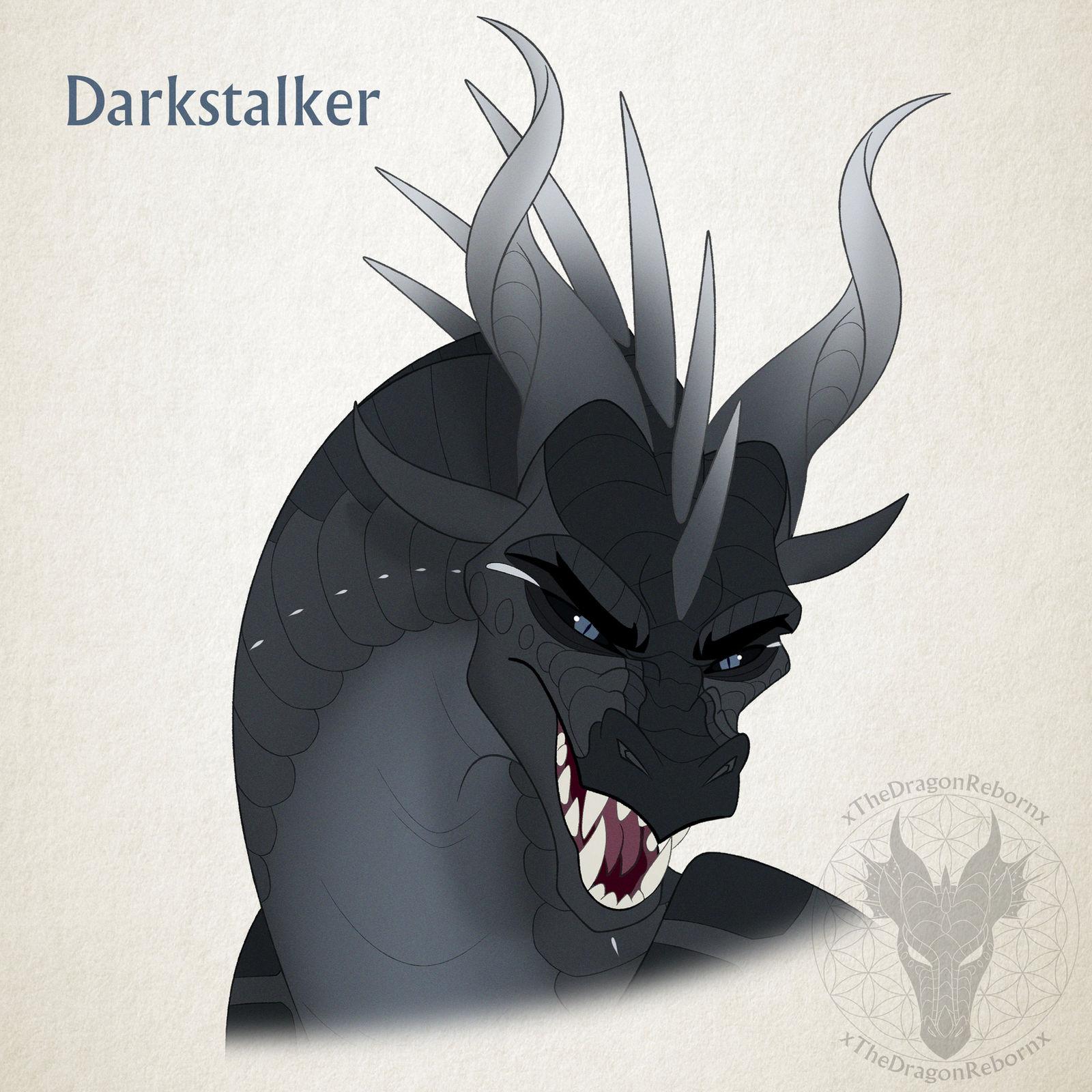WoF H-a-D Day 14 - Darkstalker by xTheDragonRebornx