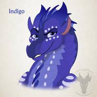 WoF H-a-D Day 32 - Indigo by xTheDragonRebornx