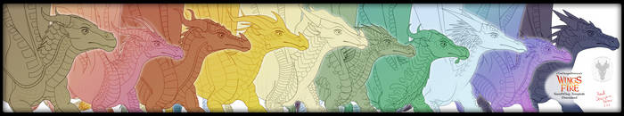 2018 Wings of Fire All Tribes Templates Download by xTheDragonRebornx
