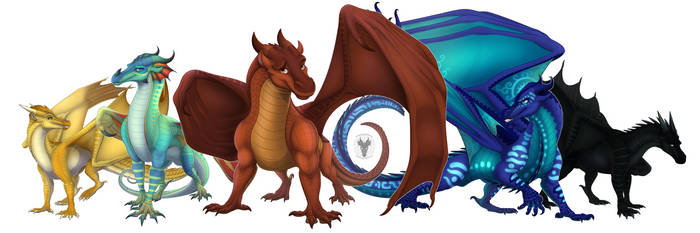 Dragonets of Destiny by xTheDragonRebornx
