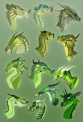 Chameleon Interpretations by xTheDragonRebornx