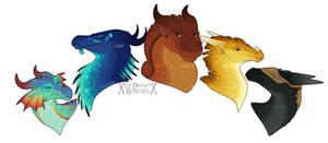 Arc 1 - Dragonets of Destiny