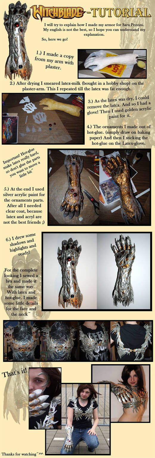 Tutorial: The Witchblade by Sleepsong
