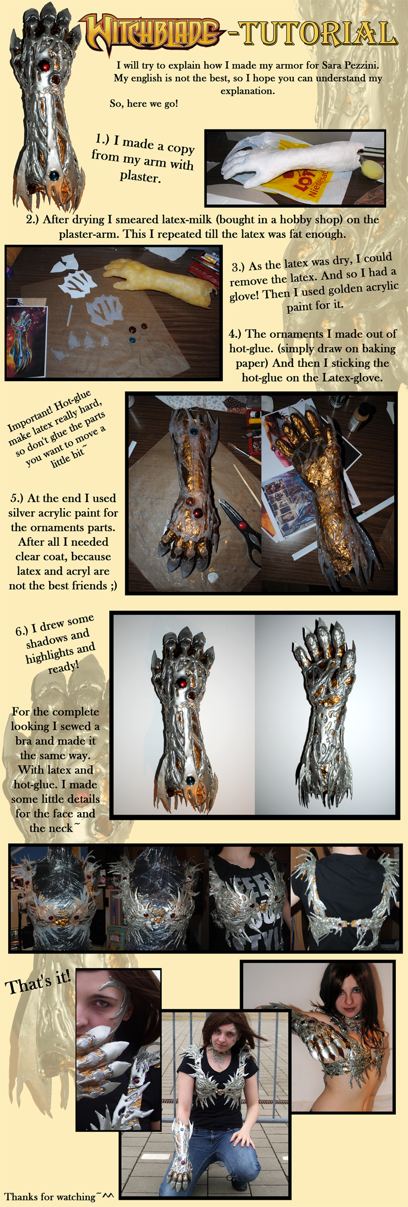 Tutorial: The Witchblade