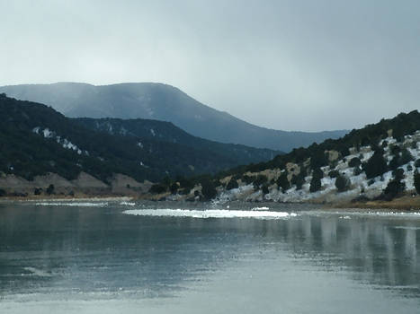 The mountain and the resevoir