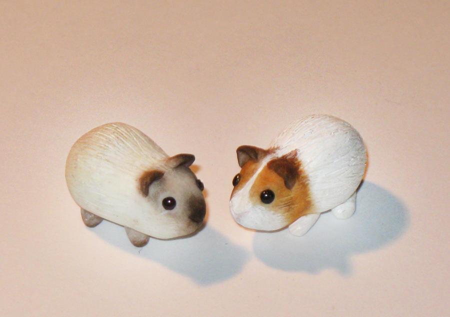 Custom Mini Piggies by insanable