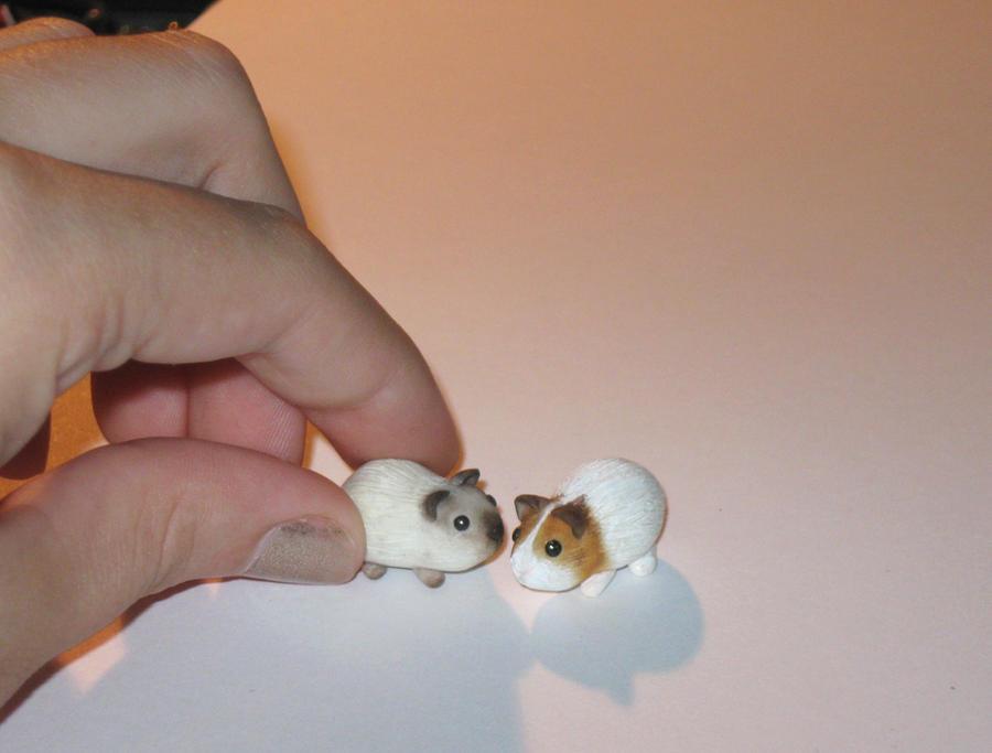Mini piggies by insanable