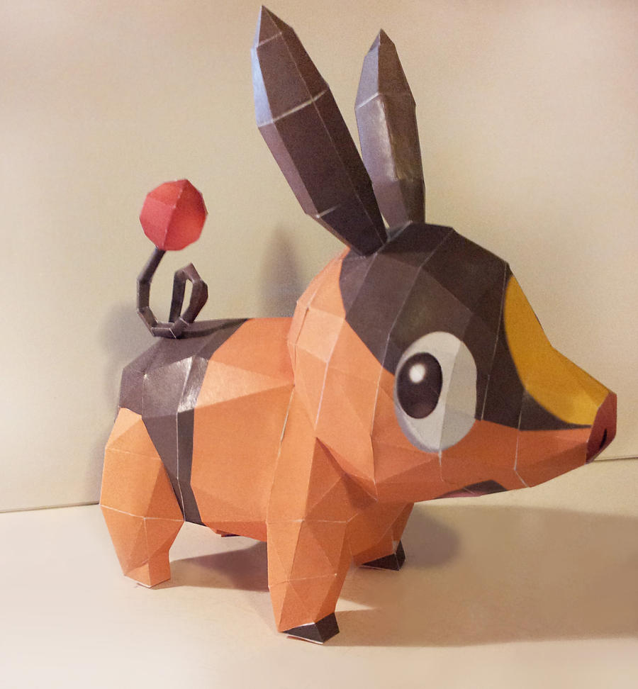 Paper Tepig by insanable