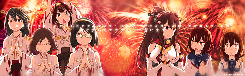 Kancolle New Year Edit