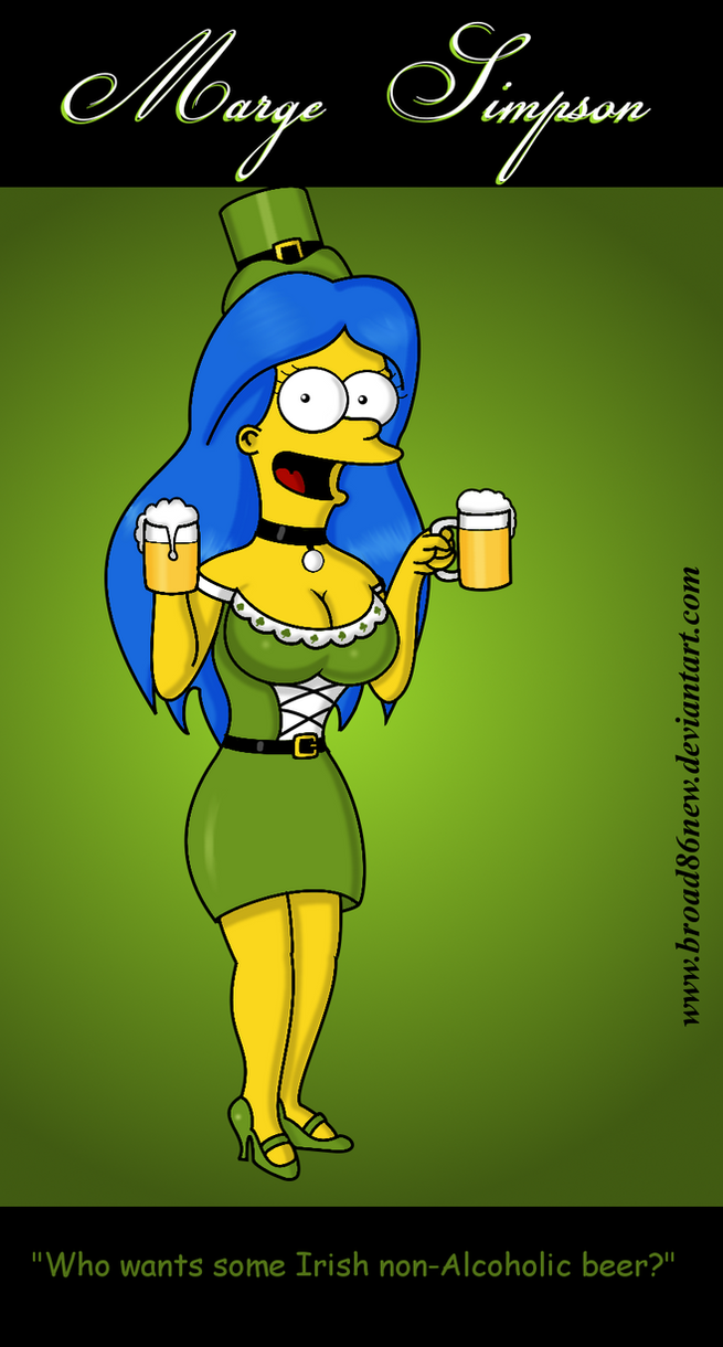 St. Patty's Day- Marge by broad86new