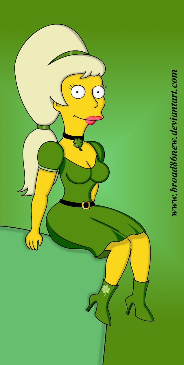 St. Patty's Day- Lurleen by broad86new