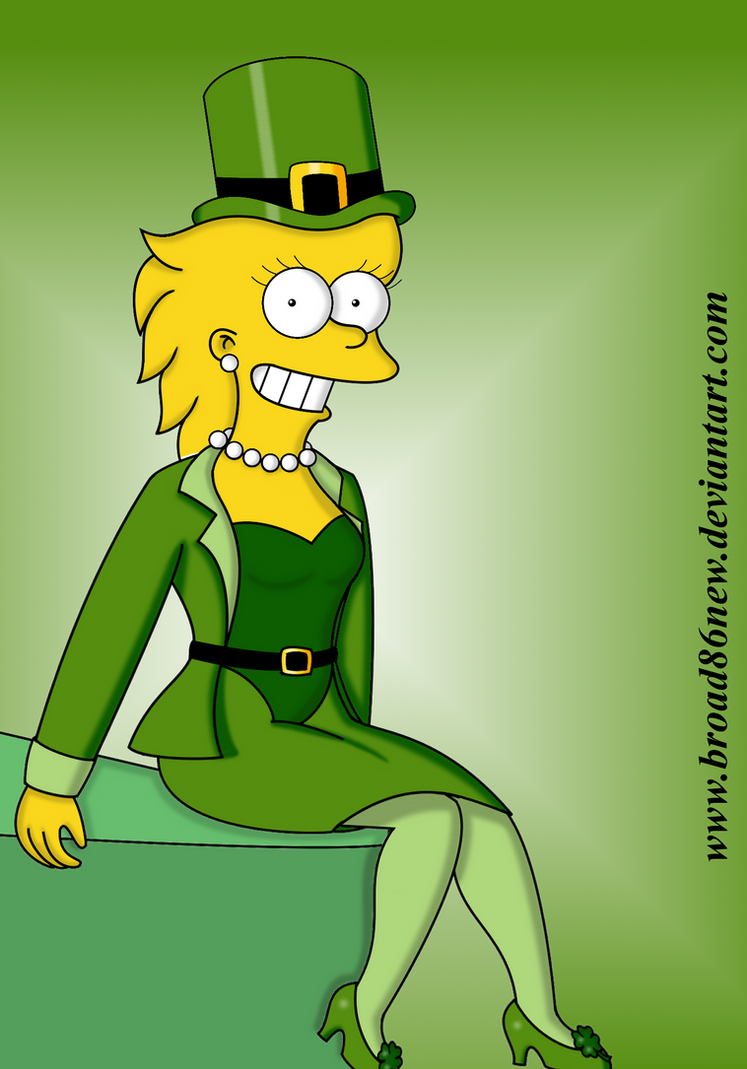 St. Patty's Day- Adult Lisa by broad86new
