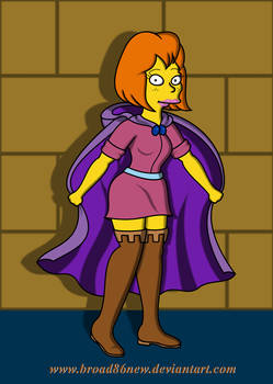 Sheila The Thief- Simpsonized by broad86new