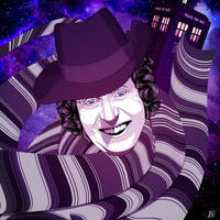 Tom Baker As The Doctor by elenichols
