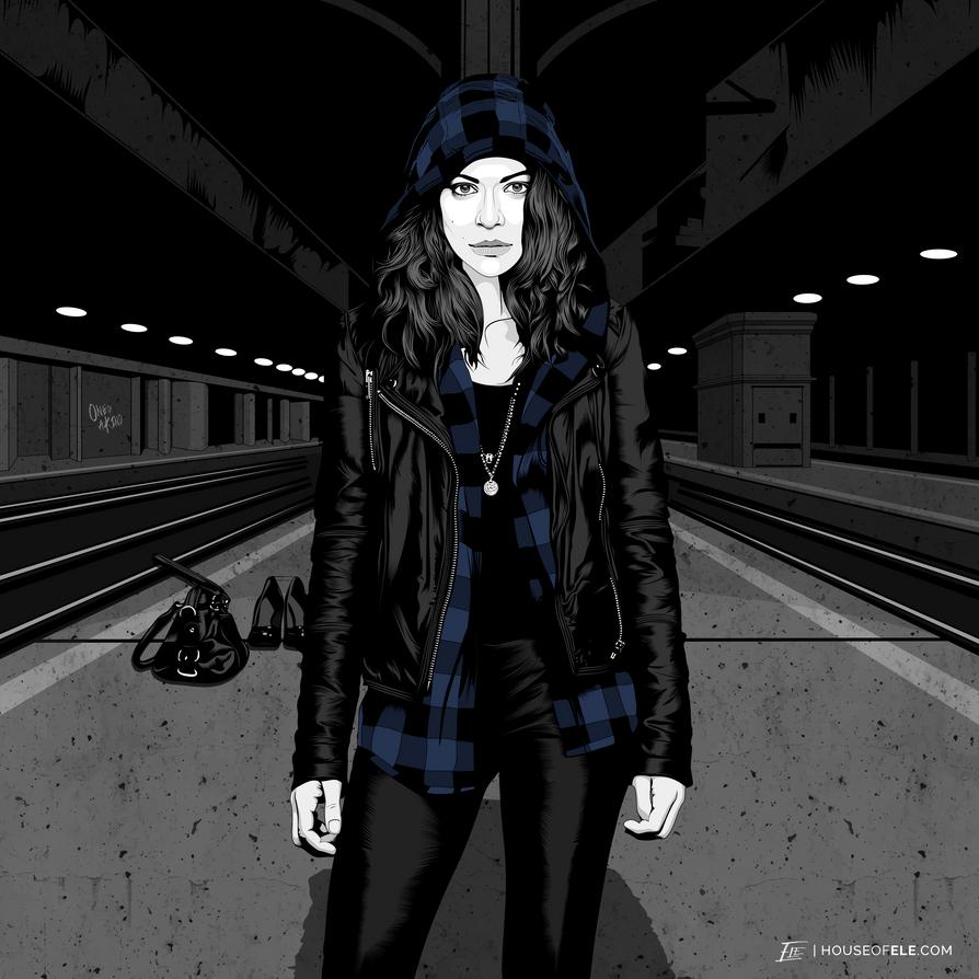 Sarah Manning / Orphan Black by elenichols