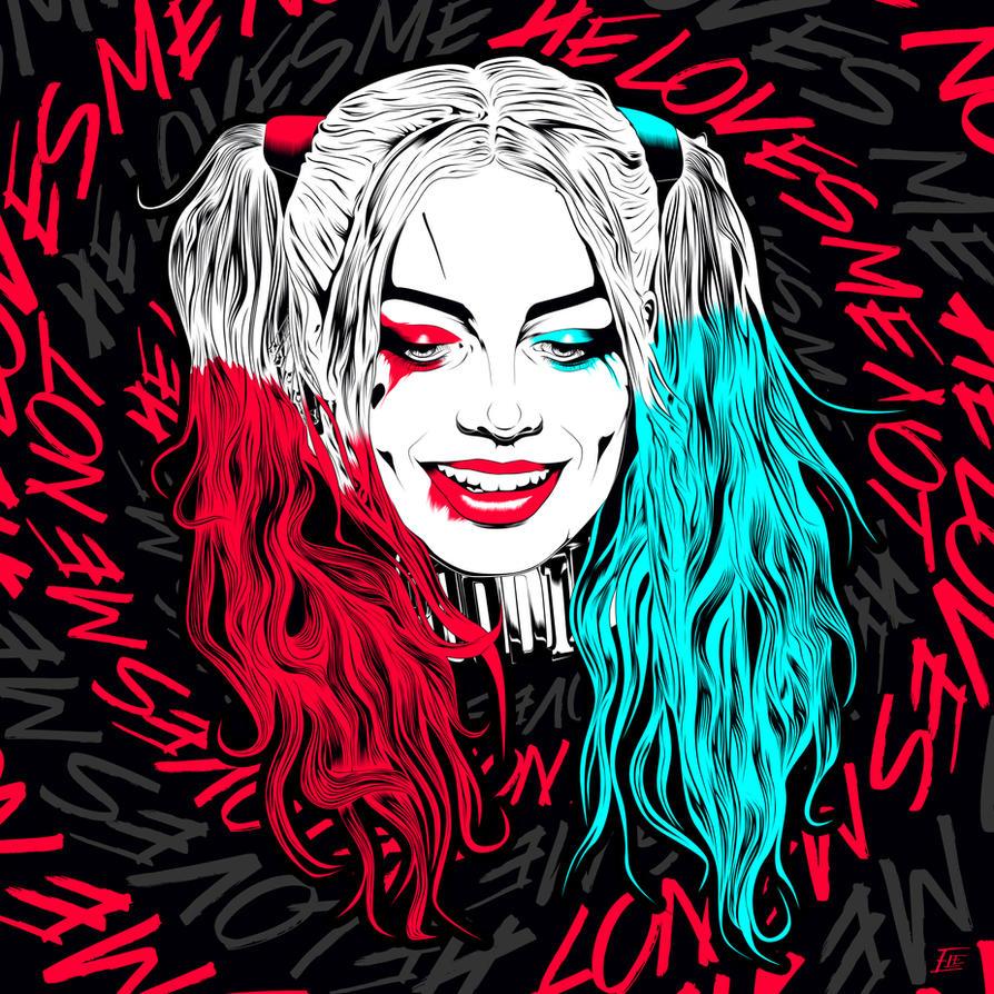 Harley Quinn by elenichols