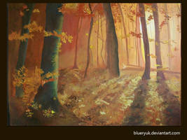 Autumn leaves by blueryuk