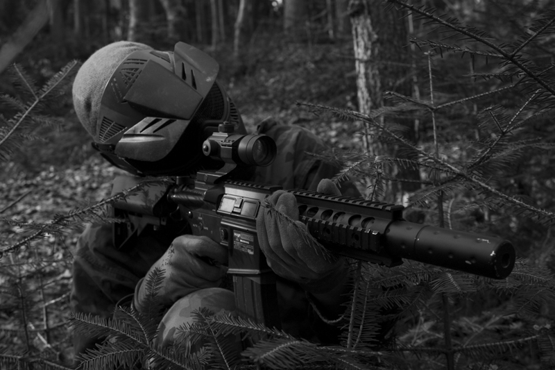 People interested in airsoft