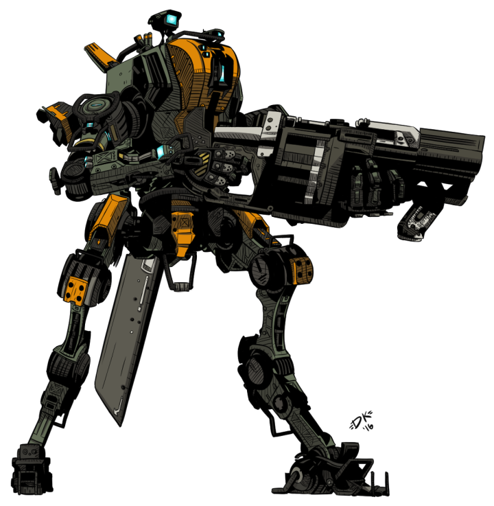 titanfall ronin militia by teamwreckloose on deviantart