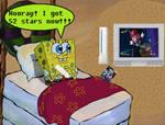 SpongeBob Plays Mario Galaxy
