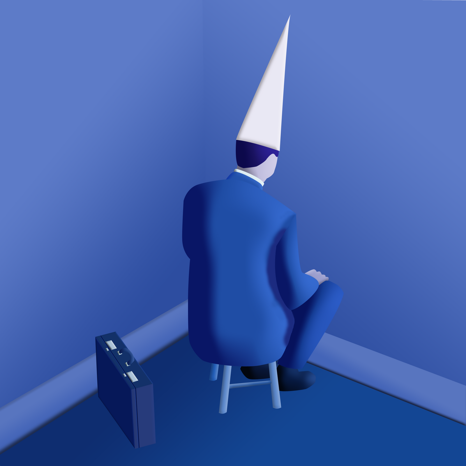 Image result for guy in corner