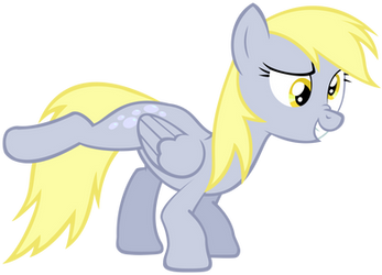 Derpy doing what she does best...