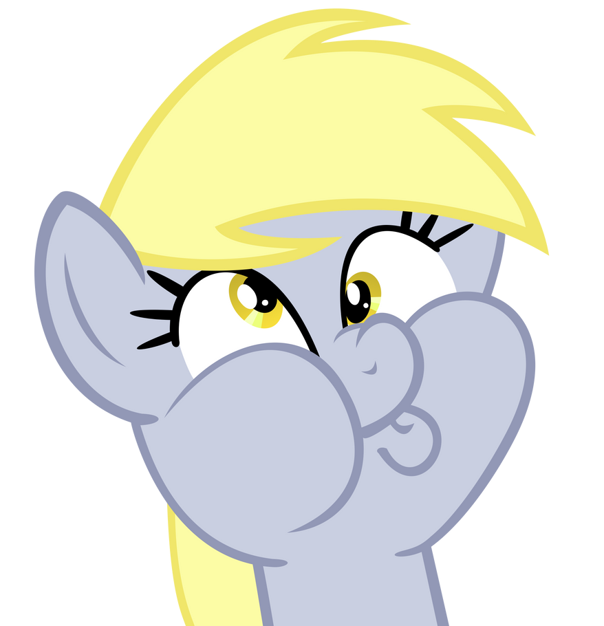 Derpy's Derpy impression... by beastywizard