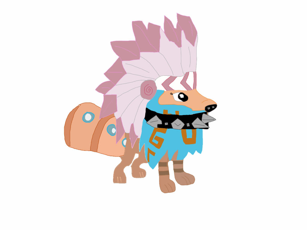 Animal Jam Arctic Wolf By Funkyrooster On Deviantart