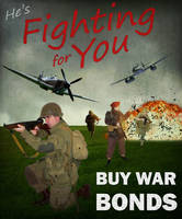 WWII Propaganda Poster by SnapShot120