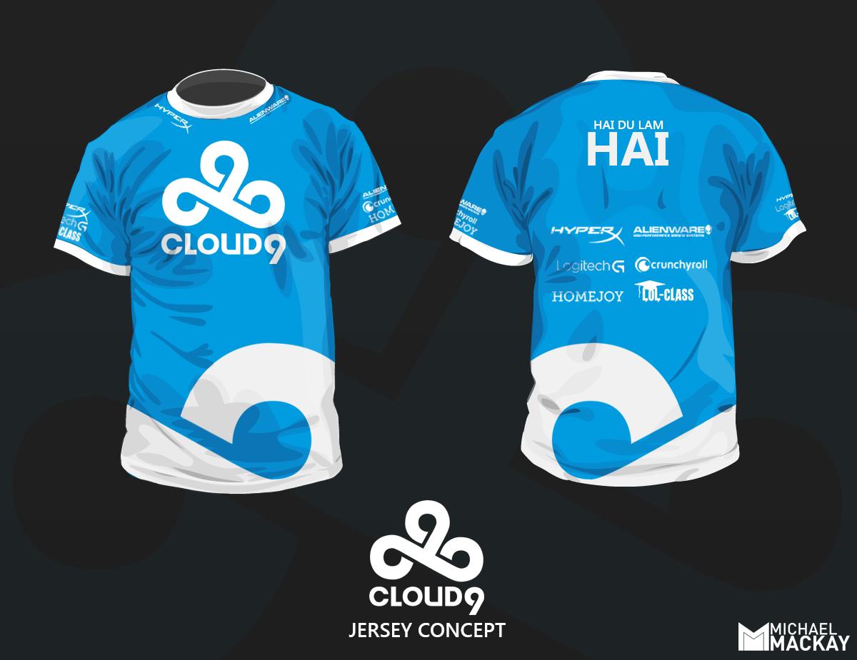 Cloud 9 Concept Jersey (Fan Art)