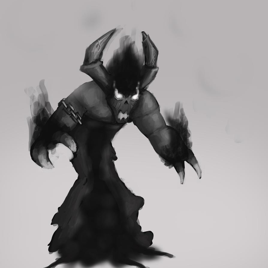 Black heart Devil concept by metalliam