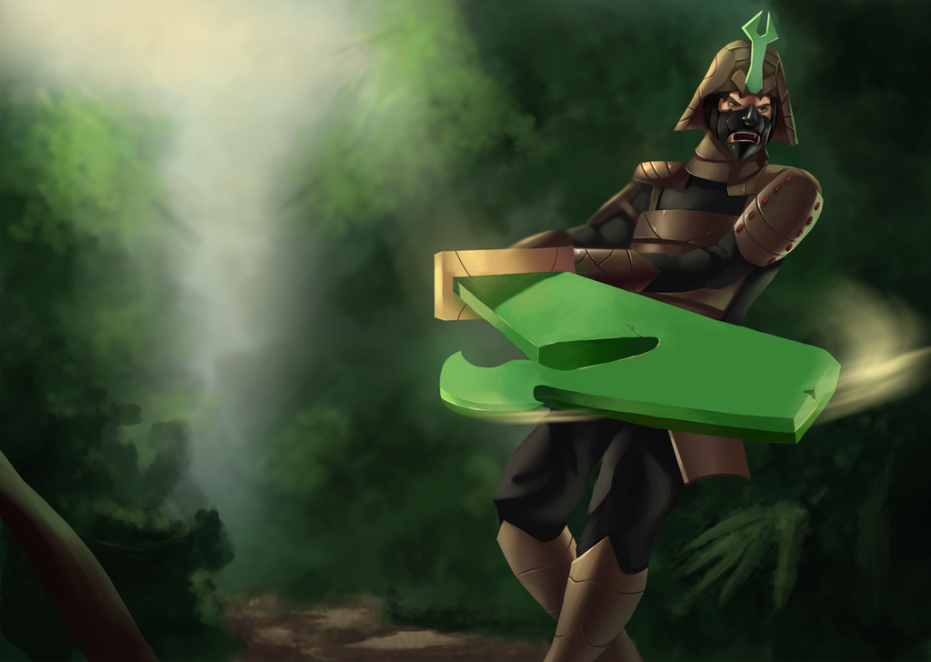 Champion Splash Art- Kabuto the Forests Champion by metalliam