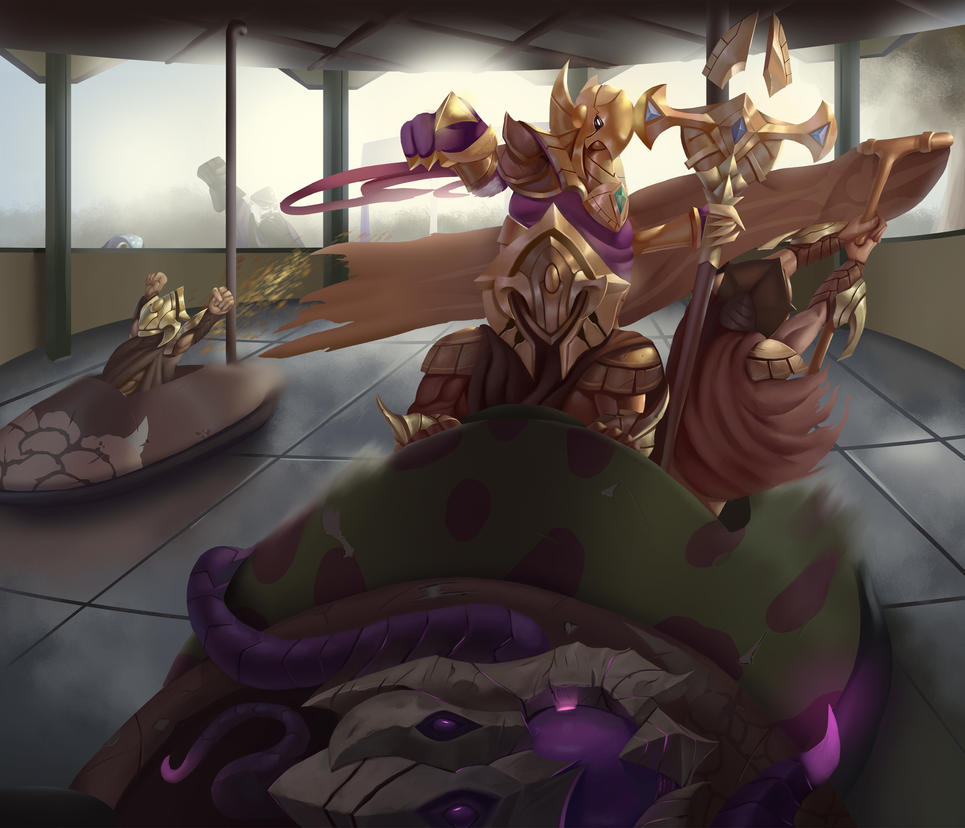 OCE league art competition by metalliam