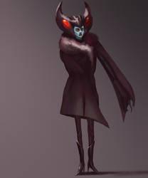 Mothwoman by metalliam